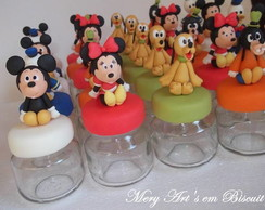 Potinho Decorado: Turma do Mickey