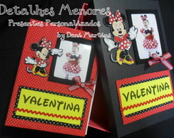 �lbum de Fotos e Caixa - Minnie