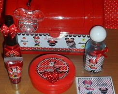 Kit manicure personalizado Minnie