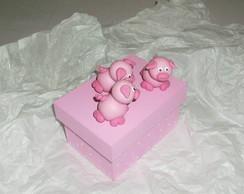 Mini box Tr�s Porquinhos!!!