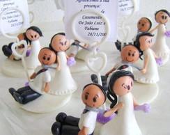 Lembrancinha de Casamento - Porta recado