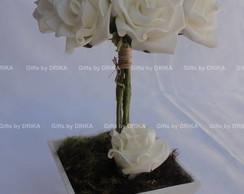 SWEET FLOWERS - FLORES BRANCAS