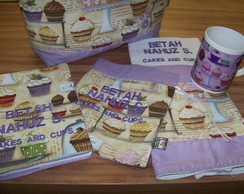 Bolsa e acess�rios Cupcake