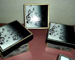 caixa nota musical