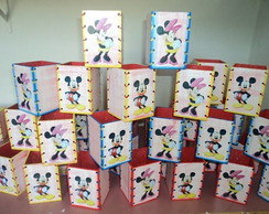 porta l�pis minnie e mickey