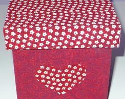 Caixa cora��o red