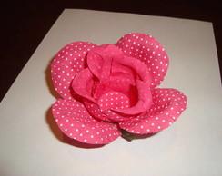 Forminha Rosa aberta com bot�o
