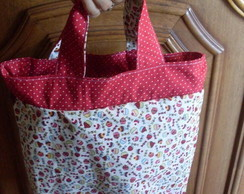 Lunch Bag cupcackes vermelhos