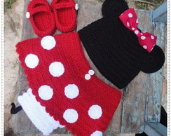 Conjunto de Croch� Minnie