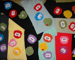 Camisetas Club Penguin - V�rios Modelos