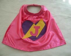 Capa Super Her�i Hero�na Rosa