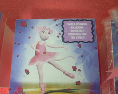 Lembrancinha angelina ballerina