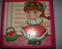 caixa para meninas-melancia