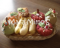 Frutas de patchwork