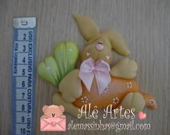 Aplique coelho na cenoura Ref 140