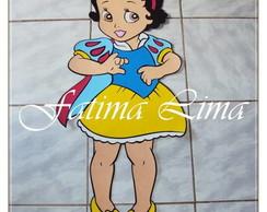 PAINEL EM EVA BRANCA DE NEVE BABY