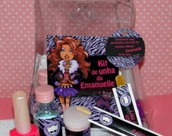 Kit de unha teen - Monster High