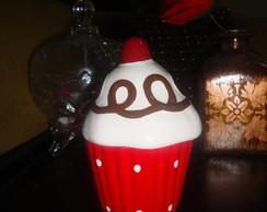 Cup Cake em cer�mica