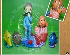 Nemo e menino mergulhador