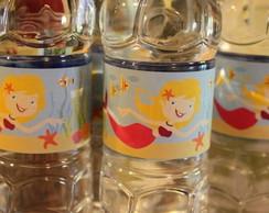Aguas personalizadas anivers�rio da Lel�