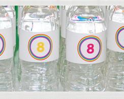 Aguas personalizadas Ricardo 8 anos
