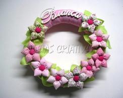 Guirlanda Flores Fuxico