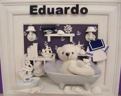 Enfeite Maternidade Urso Marinheiro