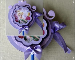 Convite Pirulito Tinker Bell Modelo 2