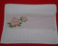 Toalha de Lavabo (Rosa) personalizar