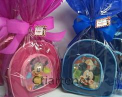 Mochila Mickey e Minie