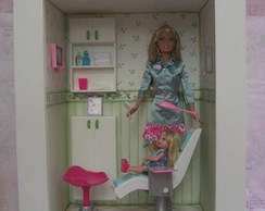 Quadro cen�rio Barbie