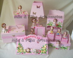 Kit Beb� Emanuelly - 7 Pe�as