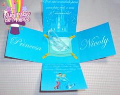 Convite Infantil - Minha Caixinha