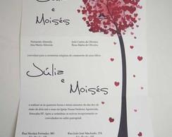 Convite de Casamento �rvores