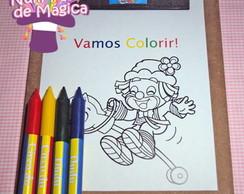 Lembran�a Infantil - Kit Vamos Colorir