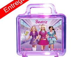 Maletinha Barbie Escola de Princesa