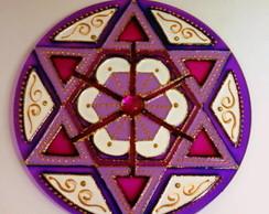 Mandala Estrela Violeta