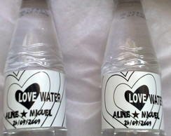 Aguas Personalizadas LOVE WATER