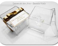 Caixinha de Acr�lico com Mini Ter�o