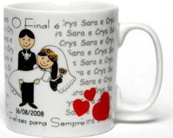Canecas personalizadas Casamento Sarah