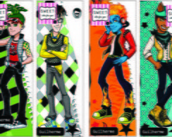 Monster High Boys - marcador de livros