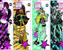 Marcador de livro Monster High