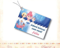 Tag Personalizado - Princesas do Mar 3