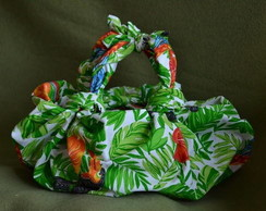 Bolsa 2 Al�as Furoshiki - Tropical
