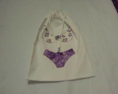 Porta lingerie lil�s