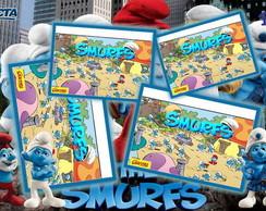 R�tulo para Batom Smurfs