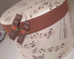 Caixa Notas Musicais