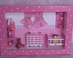 Quadro quarto de menina