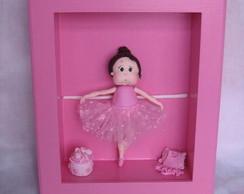 Quadro menina bailarina