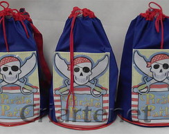 Bolsa esportiva grande do Pirata